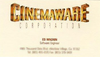 Cinemaware Corporation