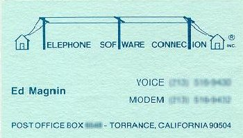 Telephone Software Connection